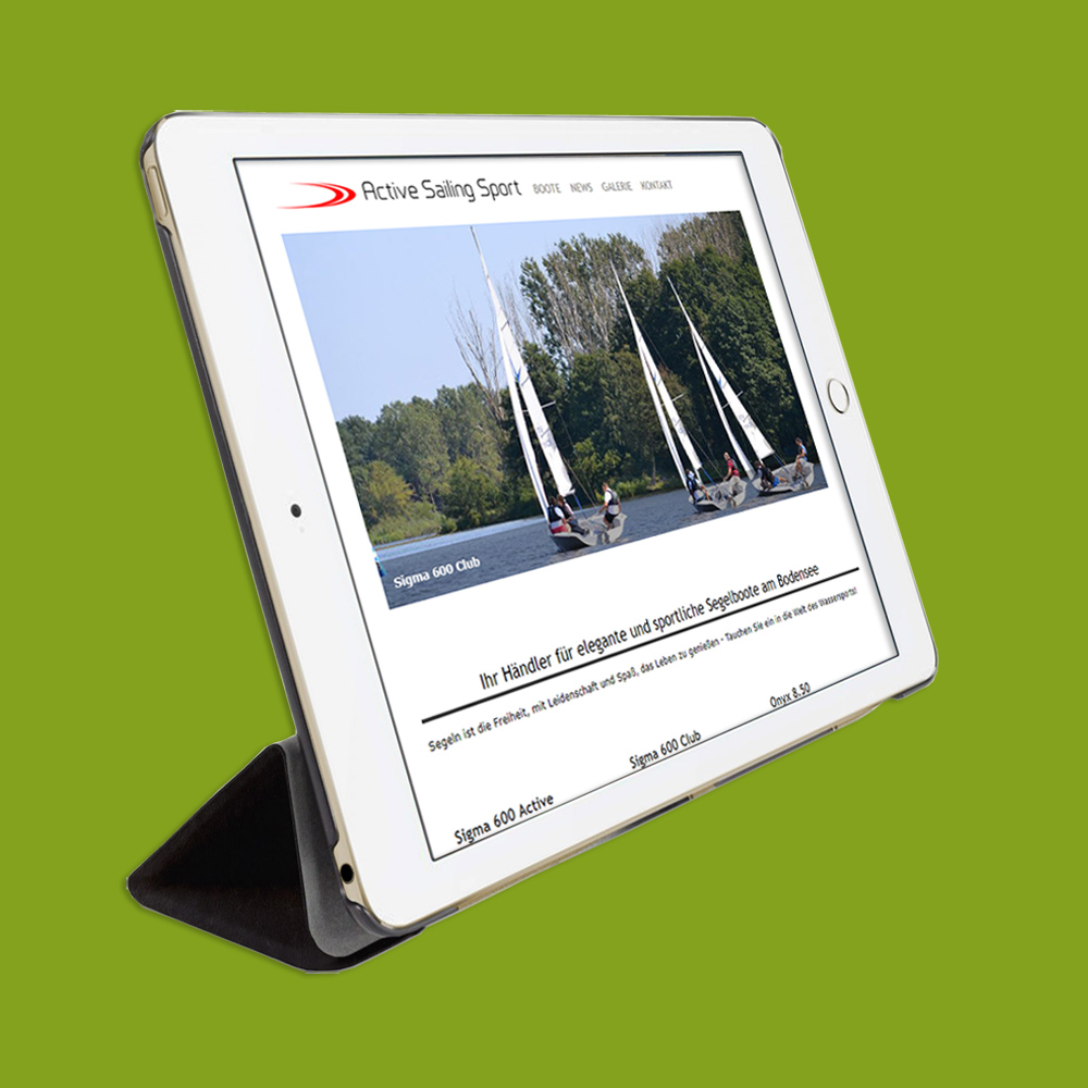 Webseite - Active Sailing Sport